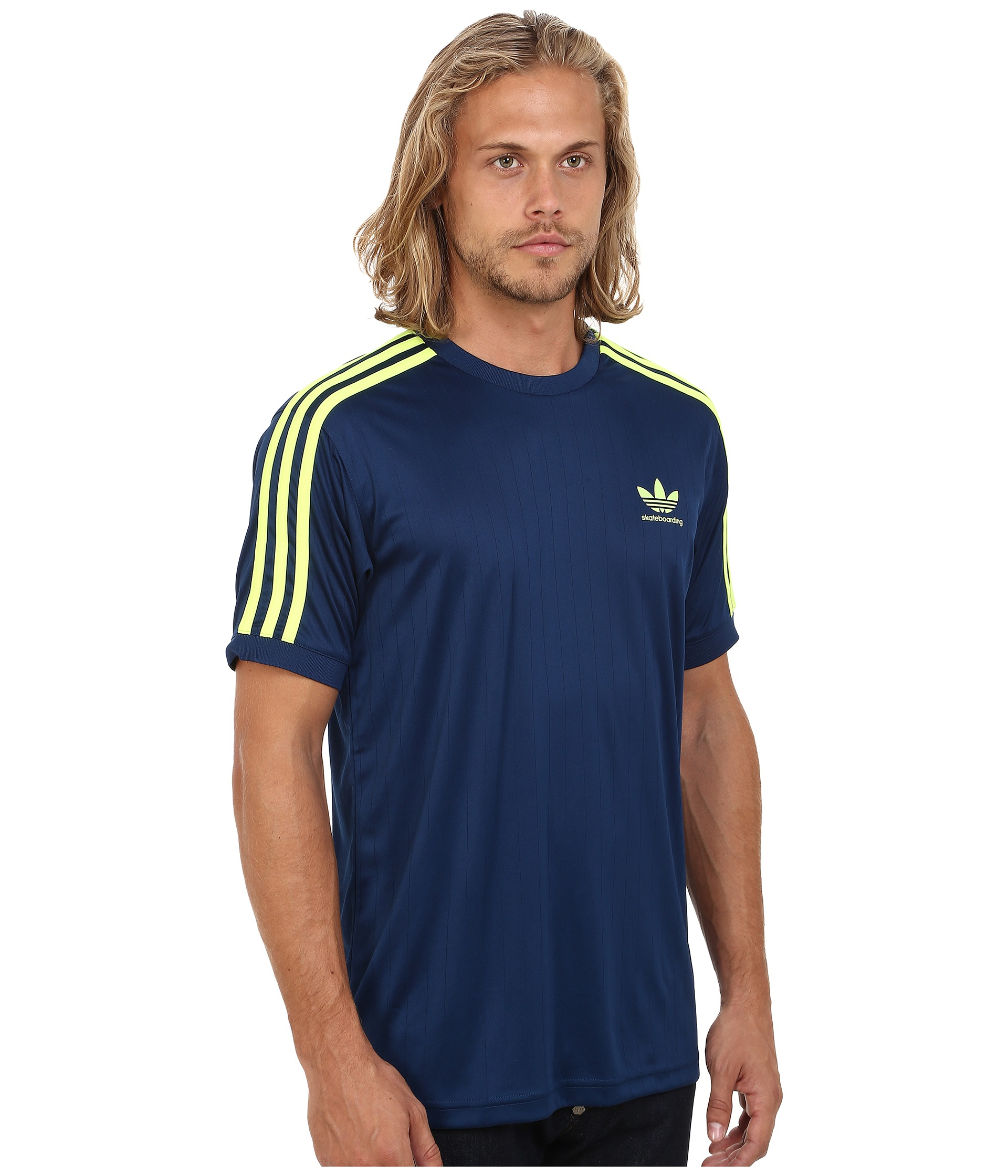 adidas Originals Synthetic Climalite Club Jersey in Blue for Men ...