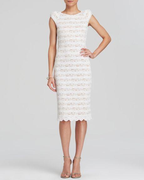 allen schwartz sleeve lace dress