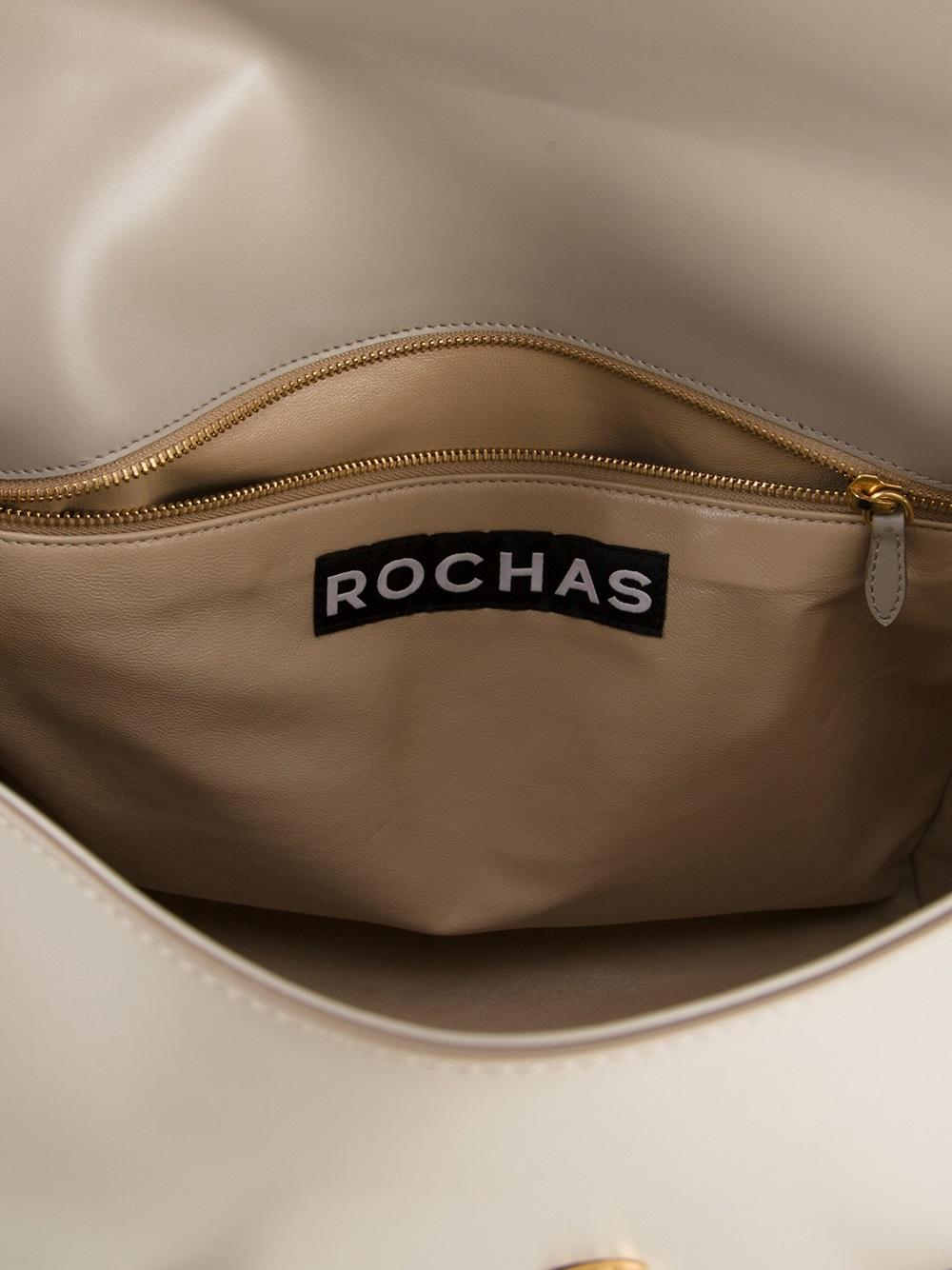 Rochas Borsa R18 Tote in Grey (Grey)
