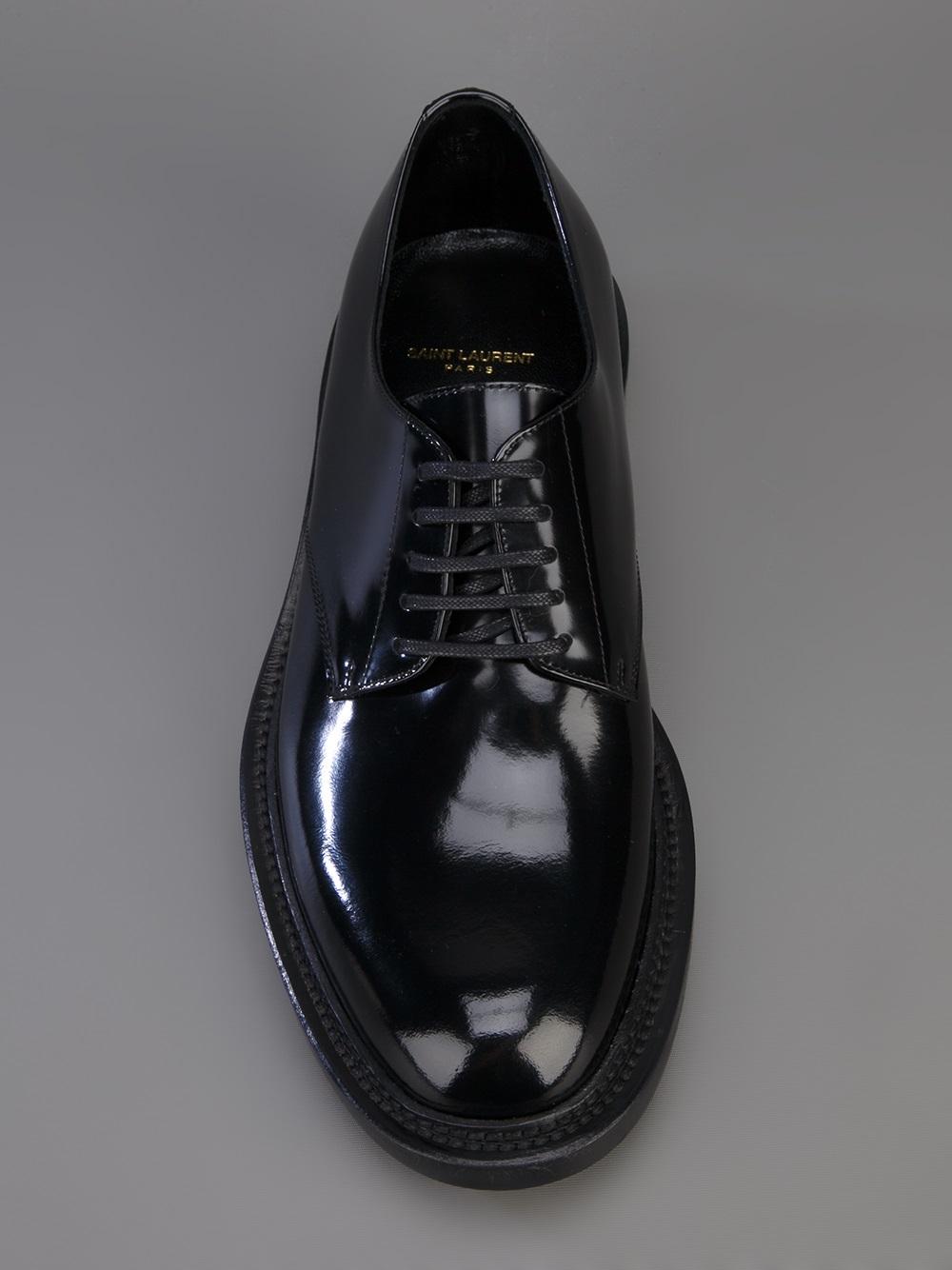 classic derby shoes - Black Saint Laurent KRwfnWJ