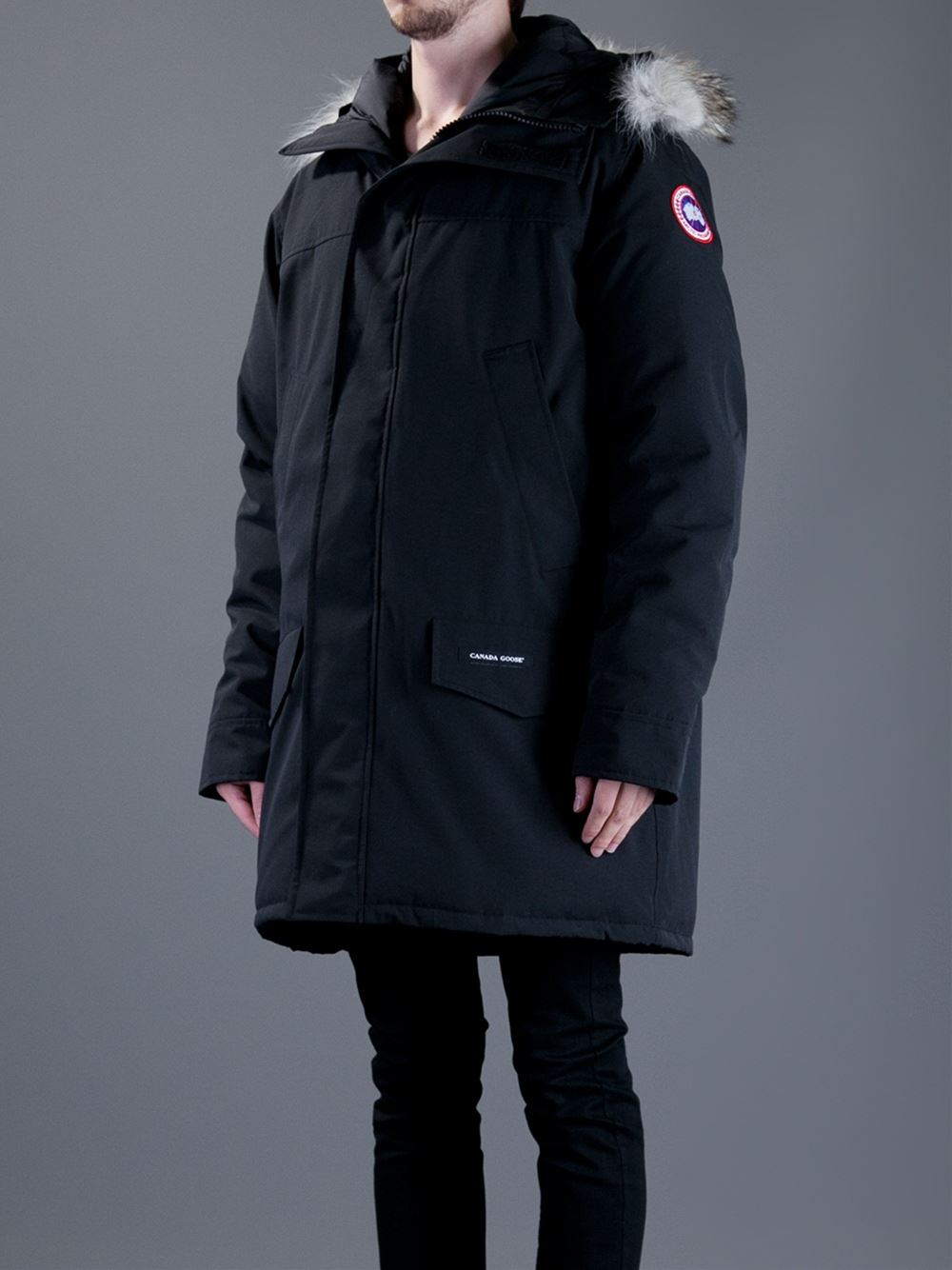 Canada Goose langford parka replica authentic - Canada goose 'Langford' Parka in Black for Men | Lyst