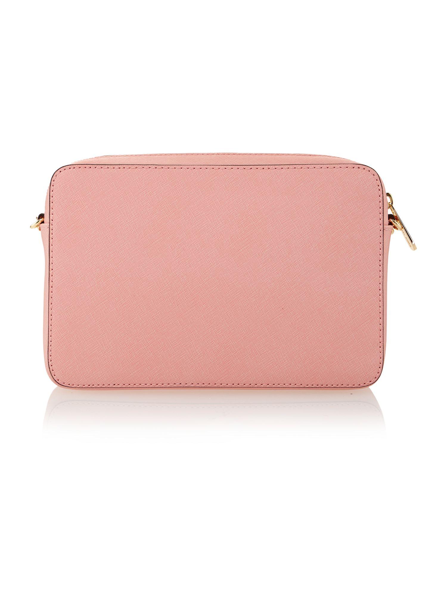 Michael Kors Jetset Travel Pale Pink Cross Body Bag