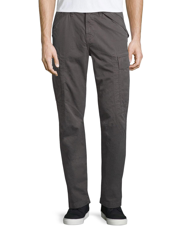 j brand collins cargo pants in gray for men lyst. Black Bedroom Furniture Sets. Home Design Ideas