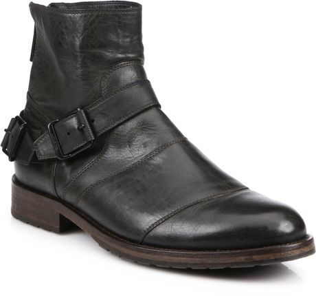 Men&39s Leather Boots With Buckles | Santa Barbara Institute for