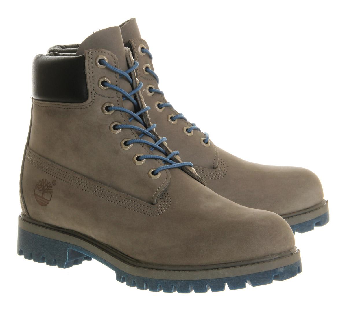 Elegant Timberland Women39s 6 Inch Premium Boot Grey Nubuck Mono 85 M US