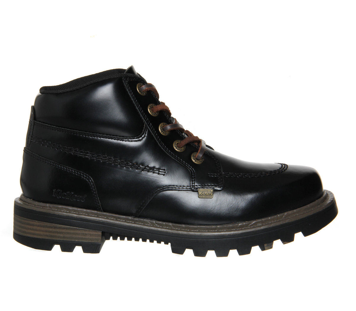 kickers stargent boots in black for save 36 lyst
