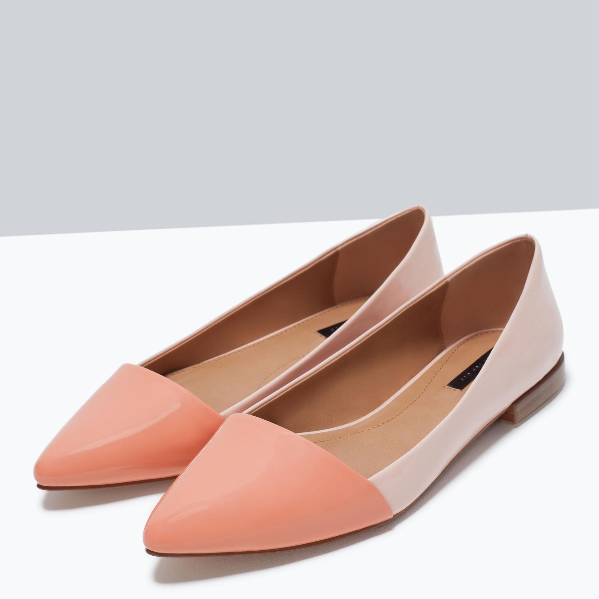 Zara Shoes Flats Uk