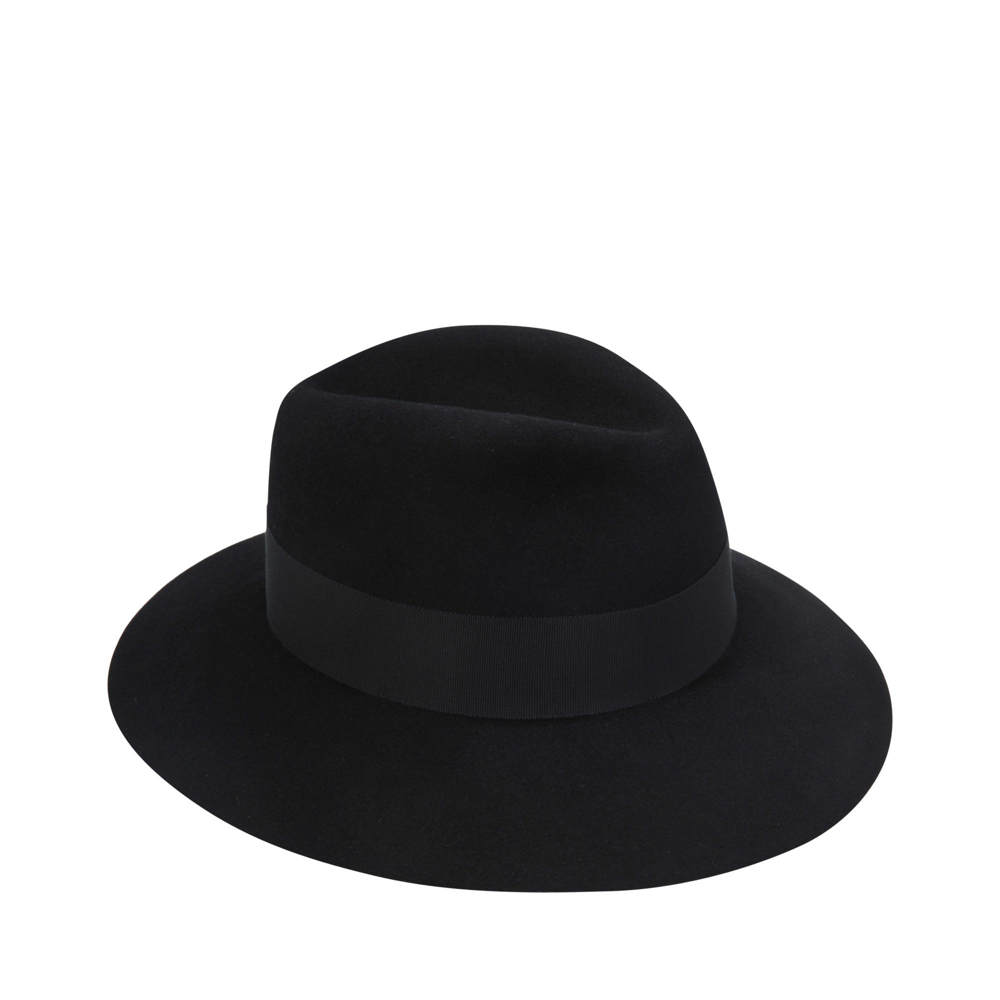 Lyst maison michel henrietta felt hat in black for Maison michel