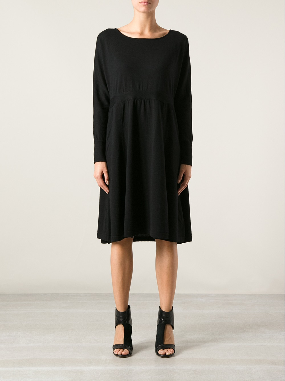 lyst societe anonyme loose fit sweater dress in black