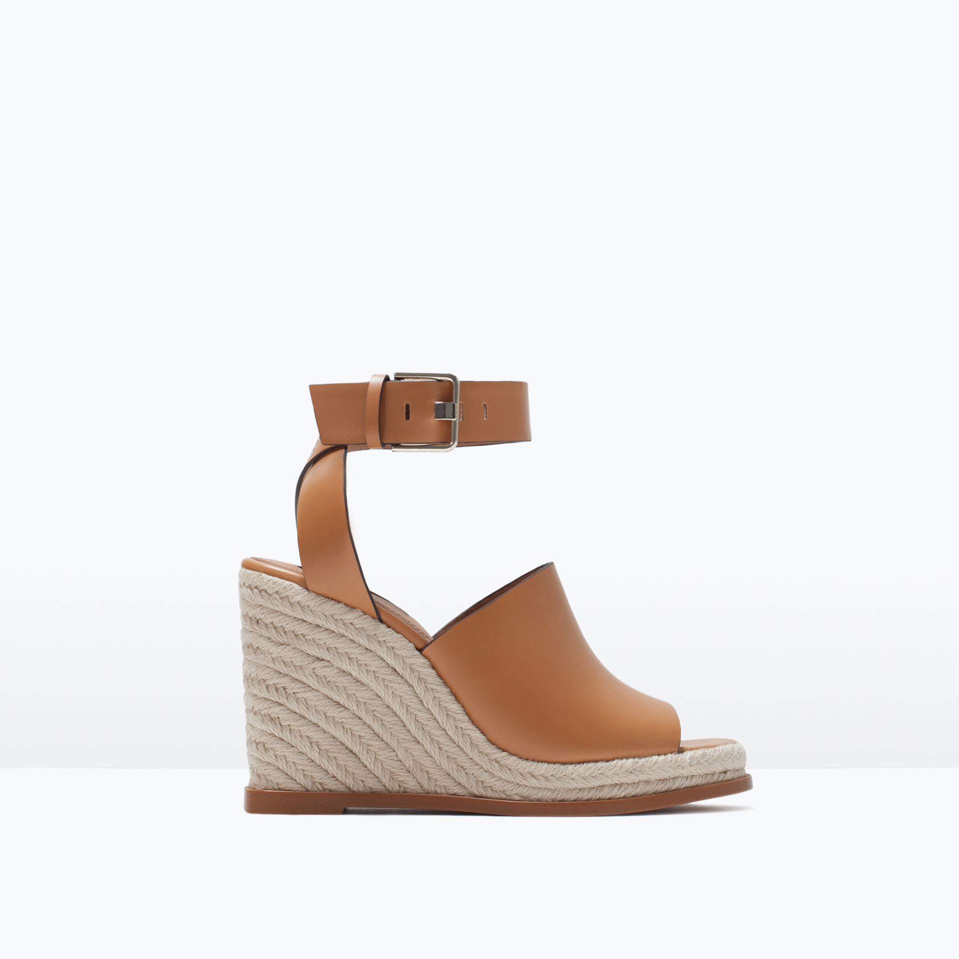 zara wedge with ankle wedge with ankle in