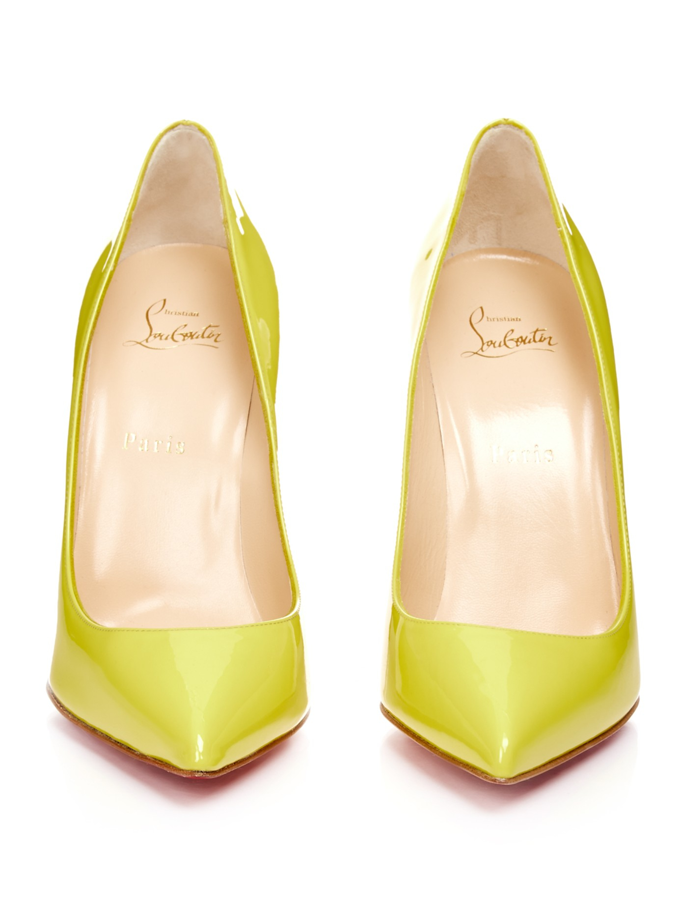 christian louboutin knockoff shoes - Christian louboutin Pigalle Follies 100mm Patent-leather Pumps in ...