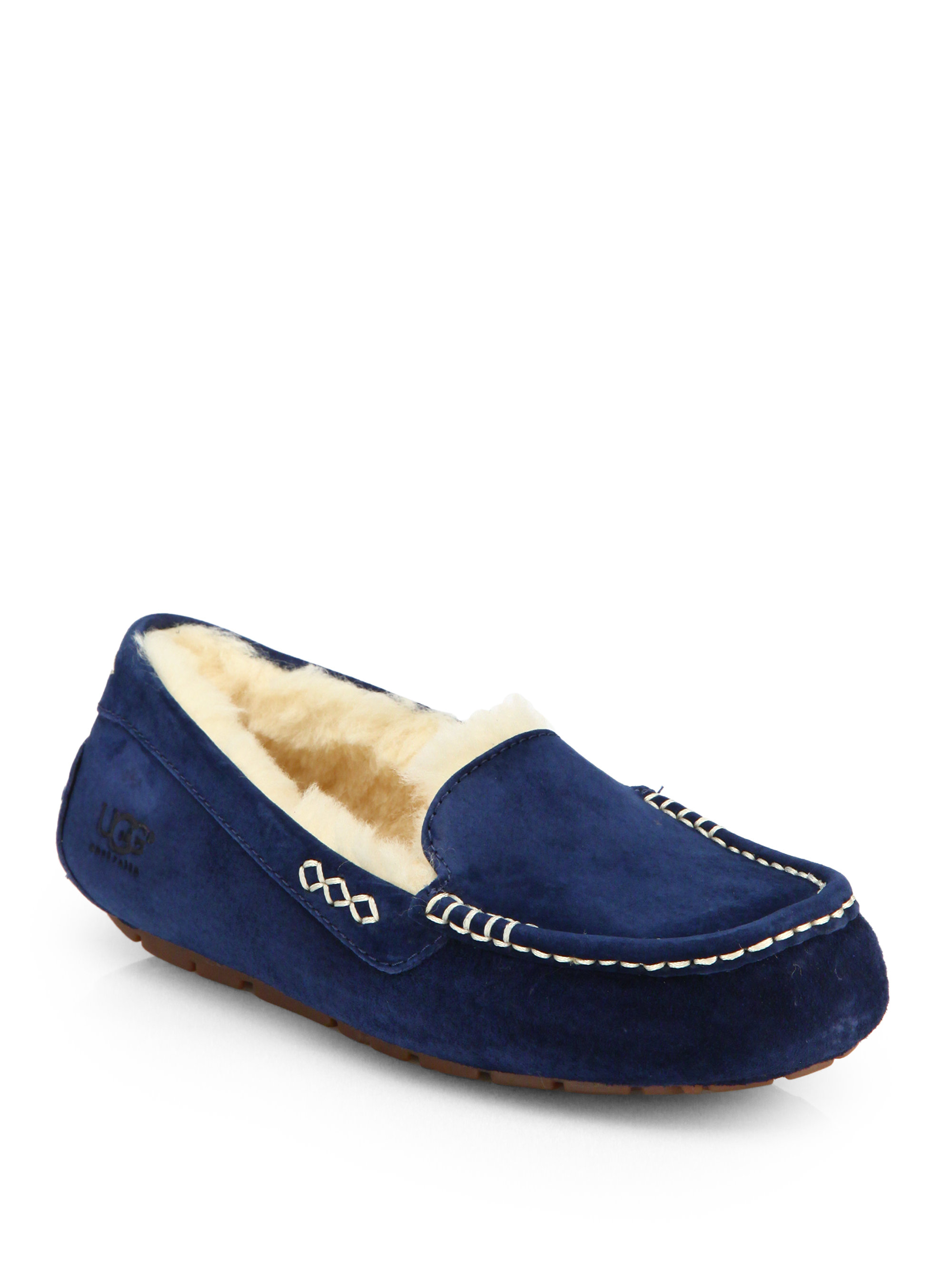 UGG Slippers ANSLEY suede Get Online Online For Sale 100% Authentic For Sale 4lQ73Tsd