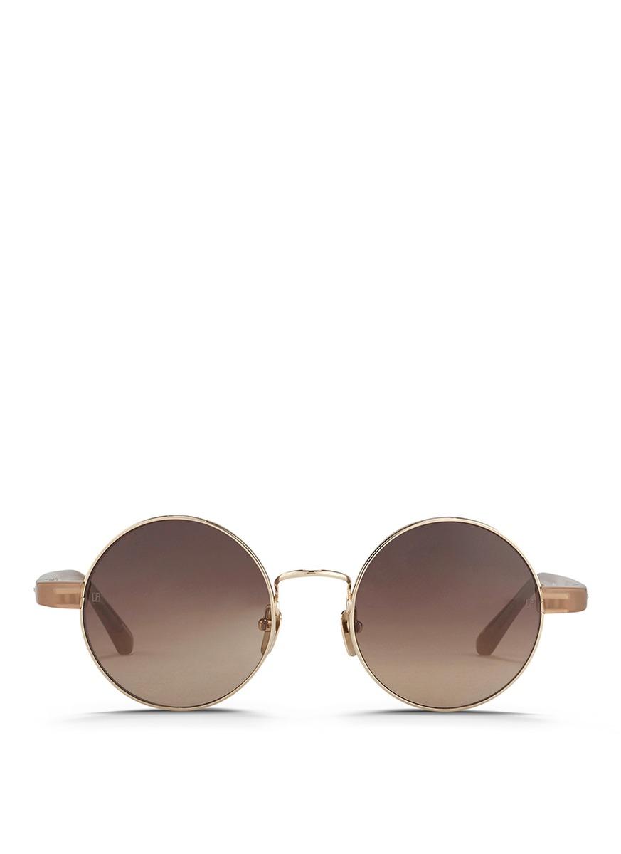 Kate Spade White Cat Eye Sunglasses