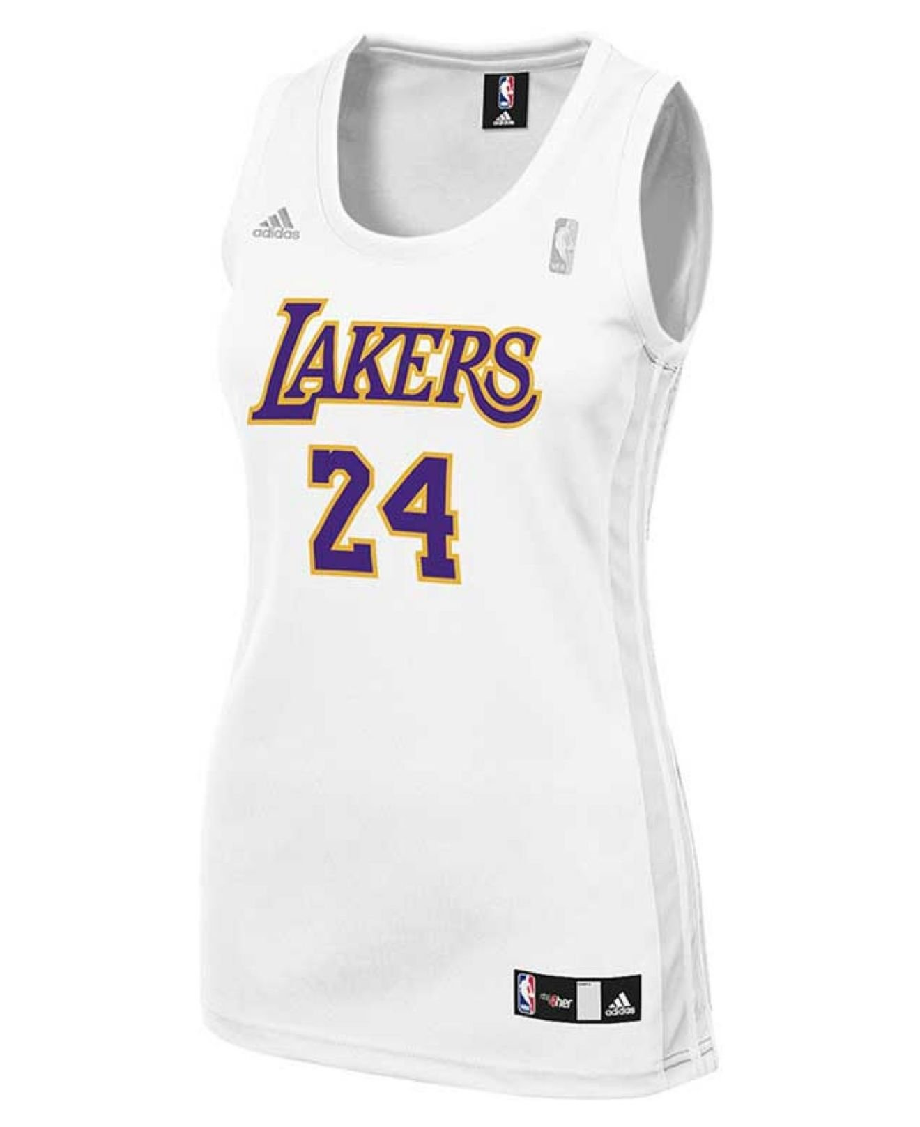e9a17cb3ea7 Lyst - Adidas Women's Los Angeles Lakers Kobe Bryant Jersey in White