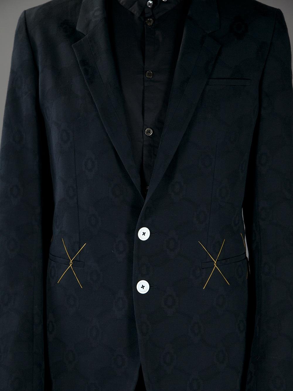 Ann Demeulemeester Appear Phantom Jacket in Black for Men