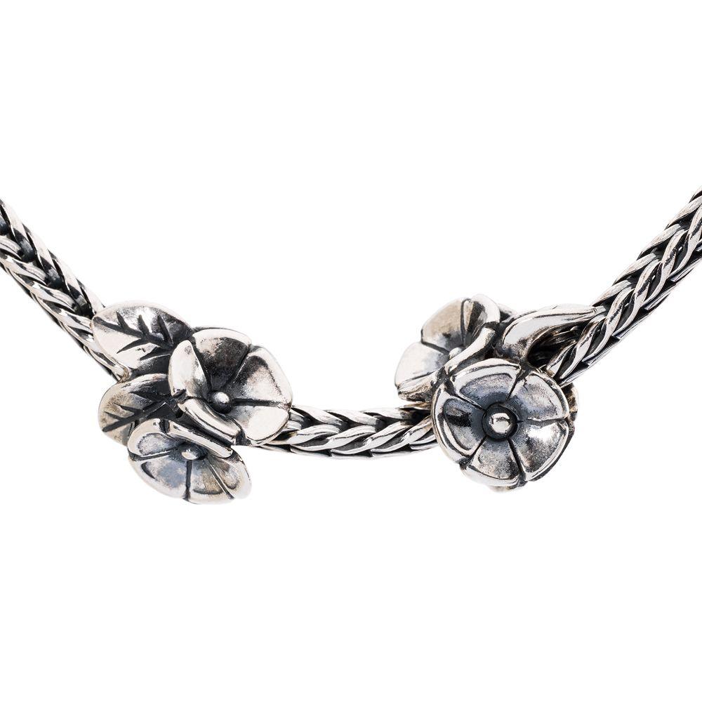 Trollbeads Flower Meadow Pendant in Silver (Metallic)