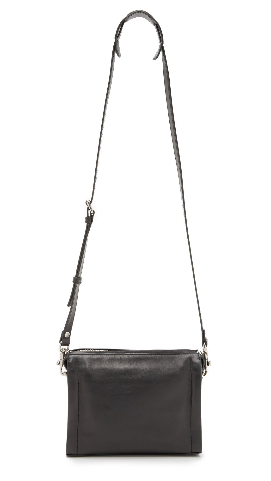 Marc By Marc Jacobs Espionage 22 Cross Body Bag in Black