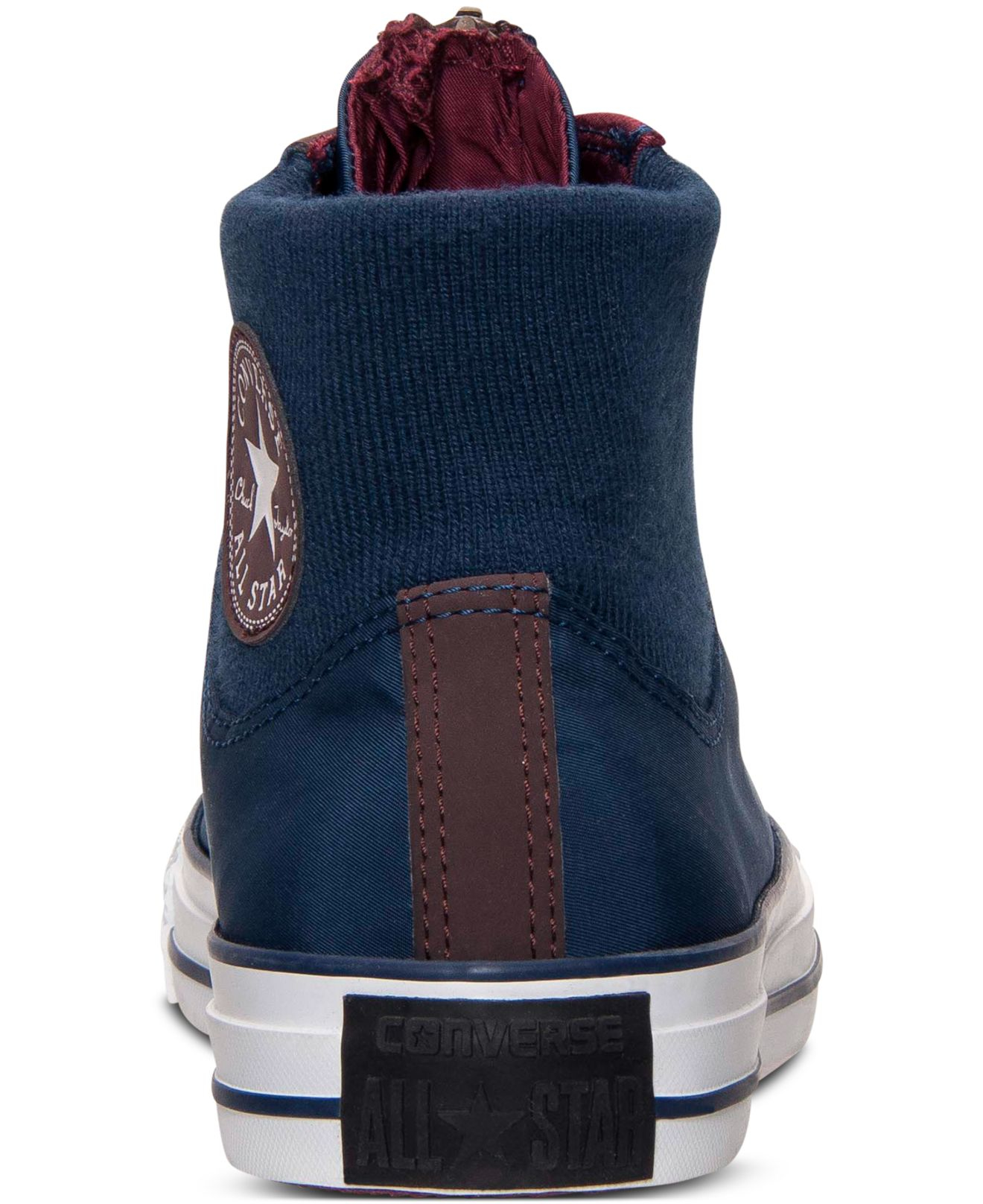 Converse Men's Chuck Taylor All Star Hi Ma-1 Zip Casual Sneakers ...