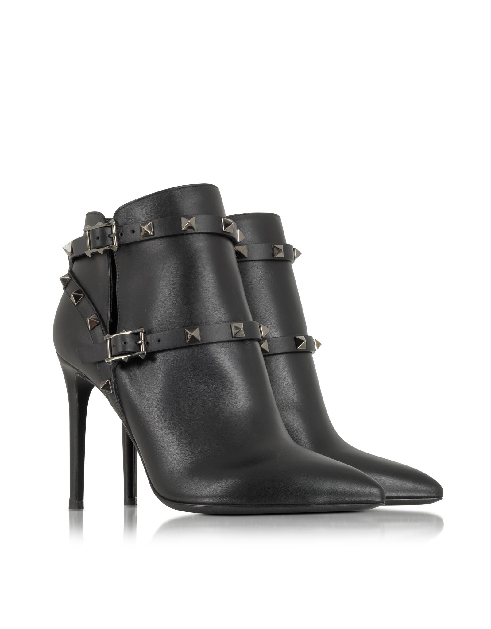 Valentino Bottes Cloutées - Noir pzo8KP