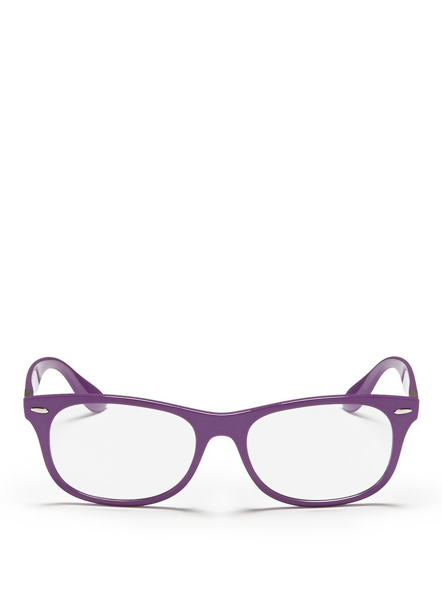 Ray Ban Glasses Frames Purple Martin