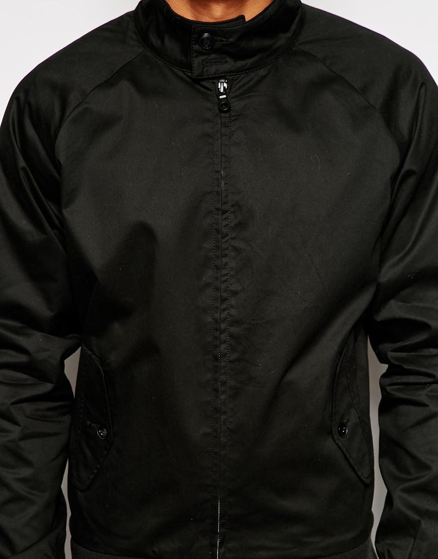 jack jones harrington jacket in black for men lyst. Black Bedroom Furniture Sets. Home Design Ideas