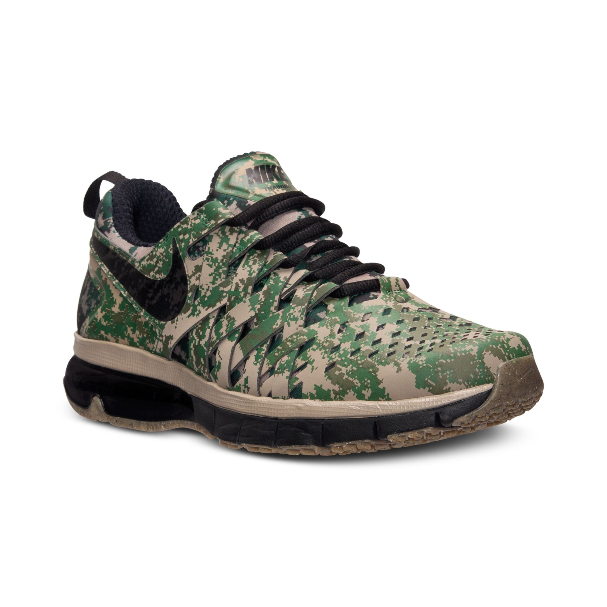 promo code cadd5 b999f ... Nike Men S Fingertrap Air Max Training Sneakers From Finish Line in  Green for Men (BAMBOO ...