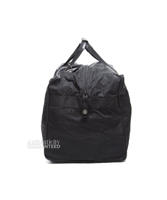 0e304553a1e1 ... spain prada pre owned black nylon large duffle bag in black for men lyst  7315b 95796