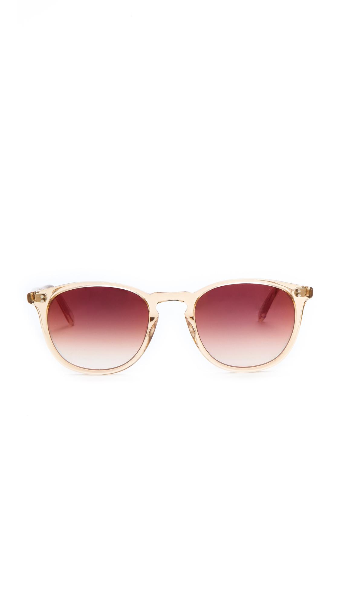 Garrett Leight Kinney Sunglasses in Metallic