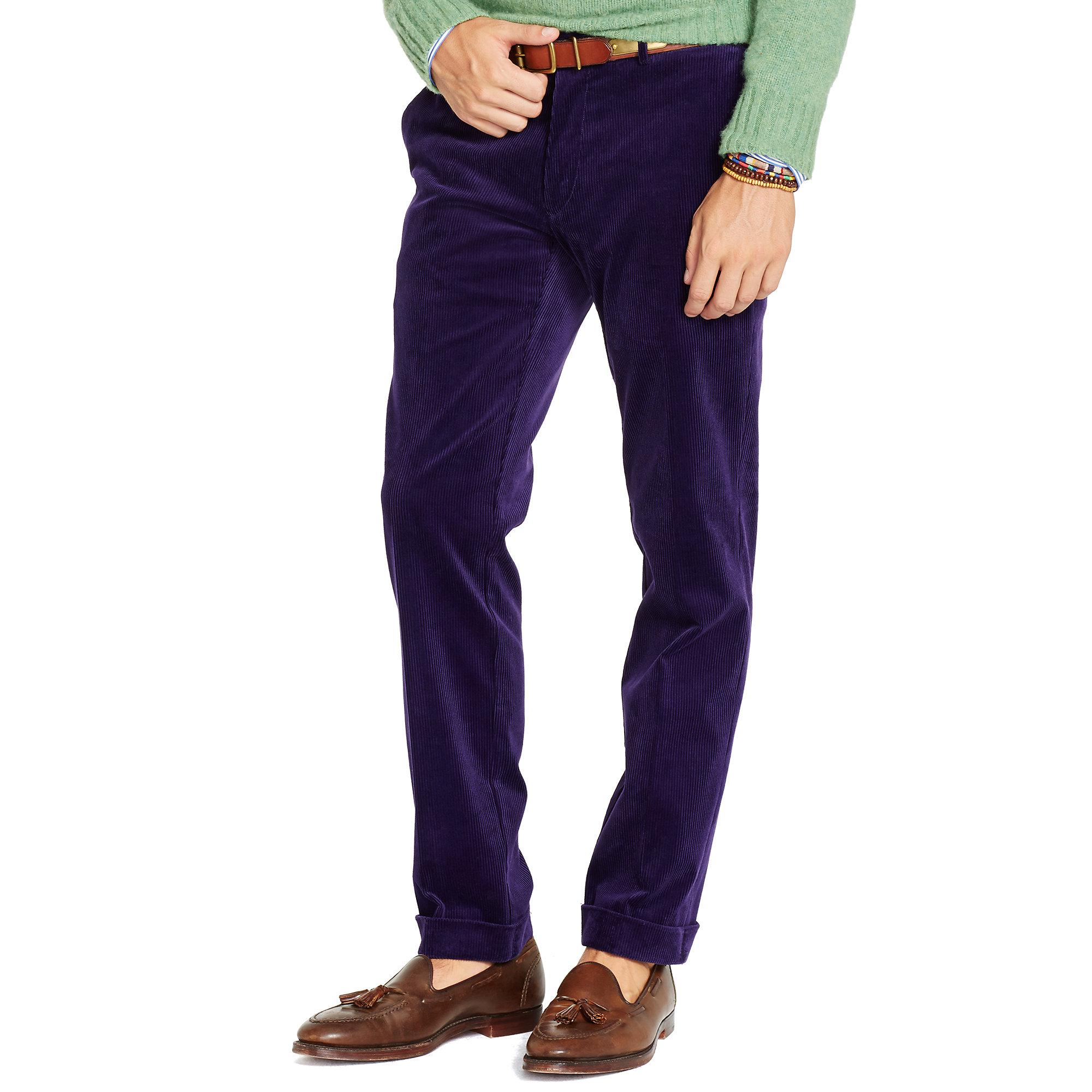 623e6103aa20cb Polo Ralph Lauren Slim-Fit Hudson Pant in Blue for Men - Lyst