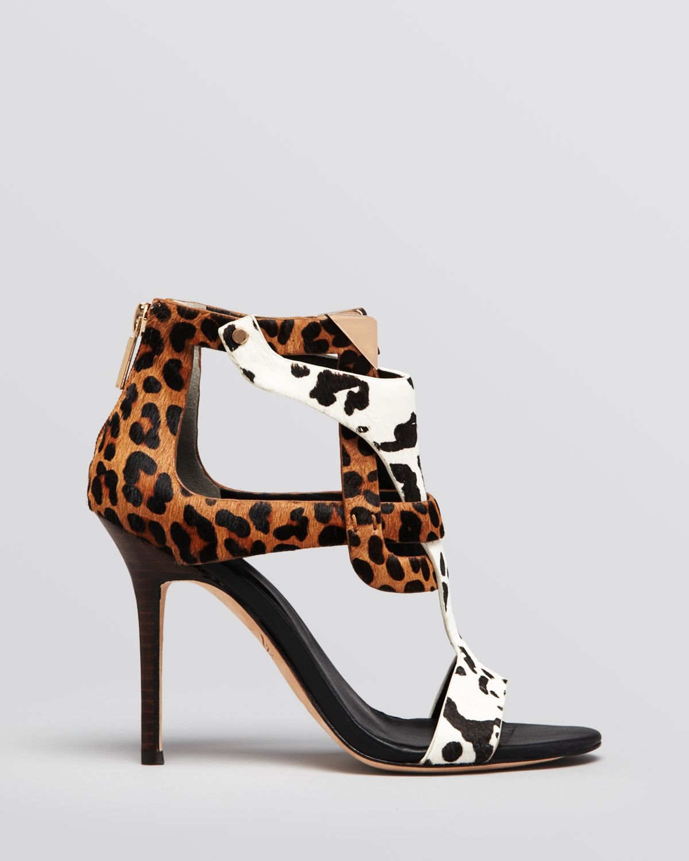 a298ae9fe1e Lyst - Rachel Roy Sandals Larson Leopard Print High Heel in Brown