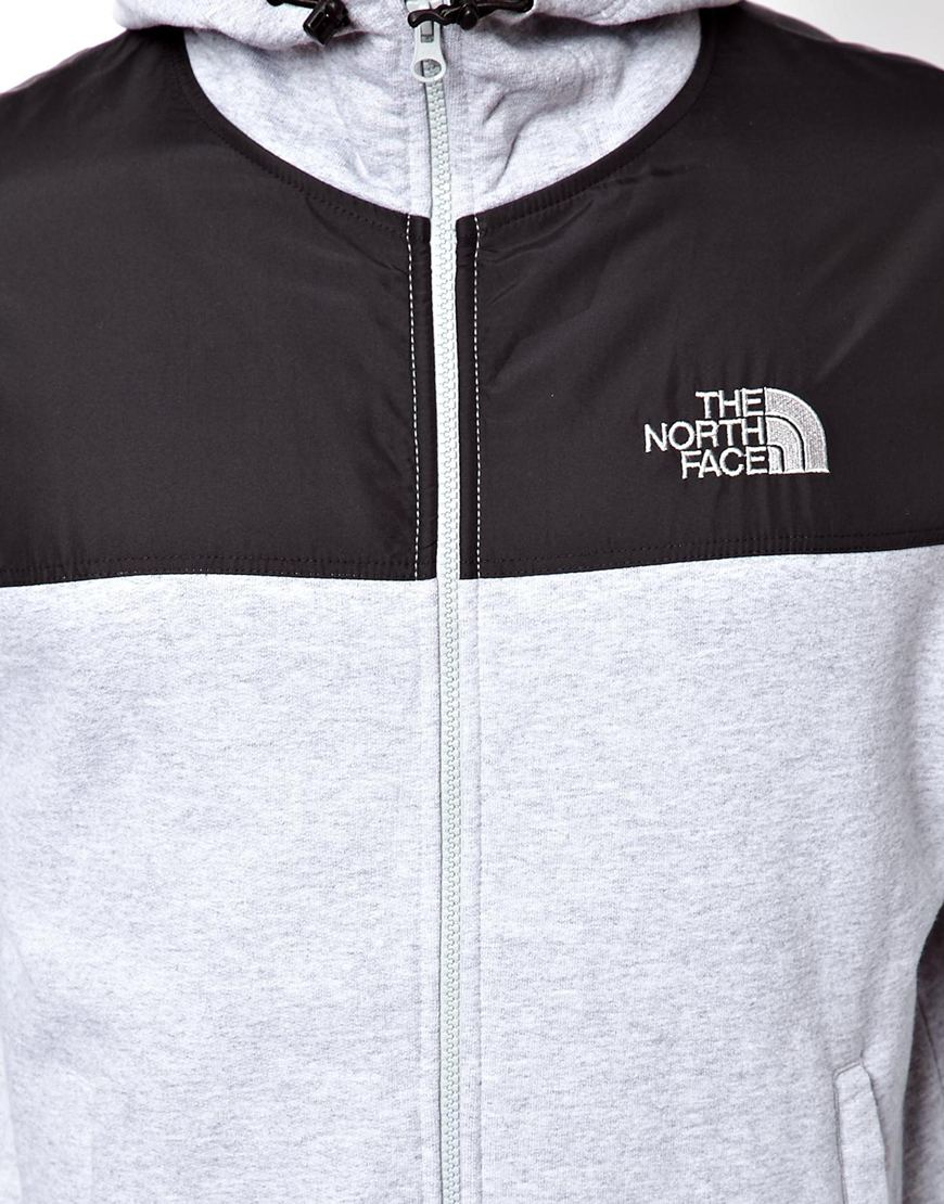 d8748553a The North Face Gray Heritage Hoodie for men