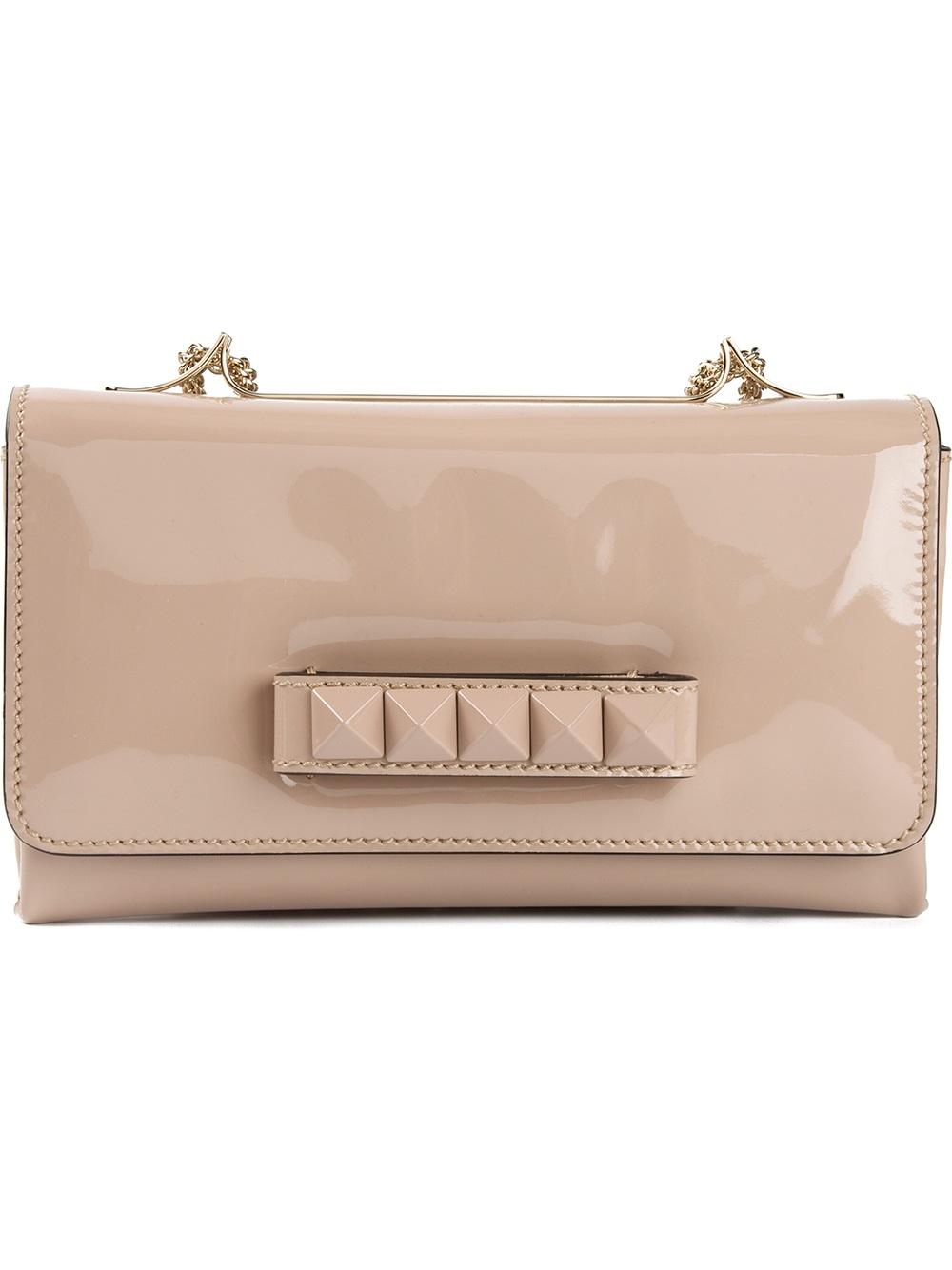 9262fe28877 Valentino Va Va Voom Shoulder Bag in Pink - Lyst