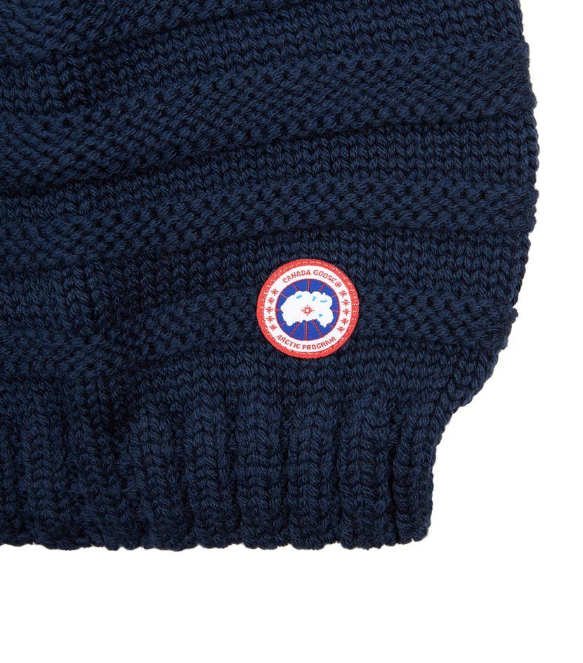 Canada Goose' Basket Weave Slouchy Hat - Ink Blue