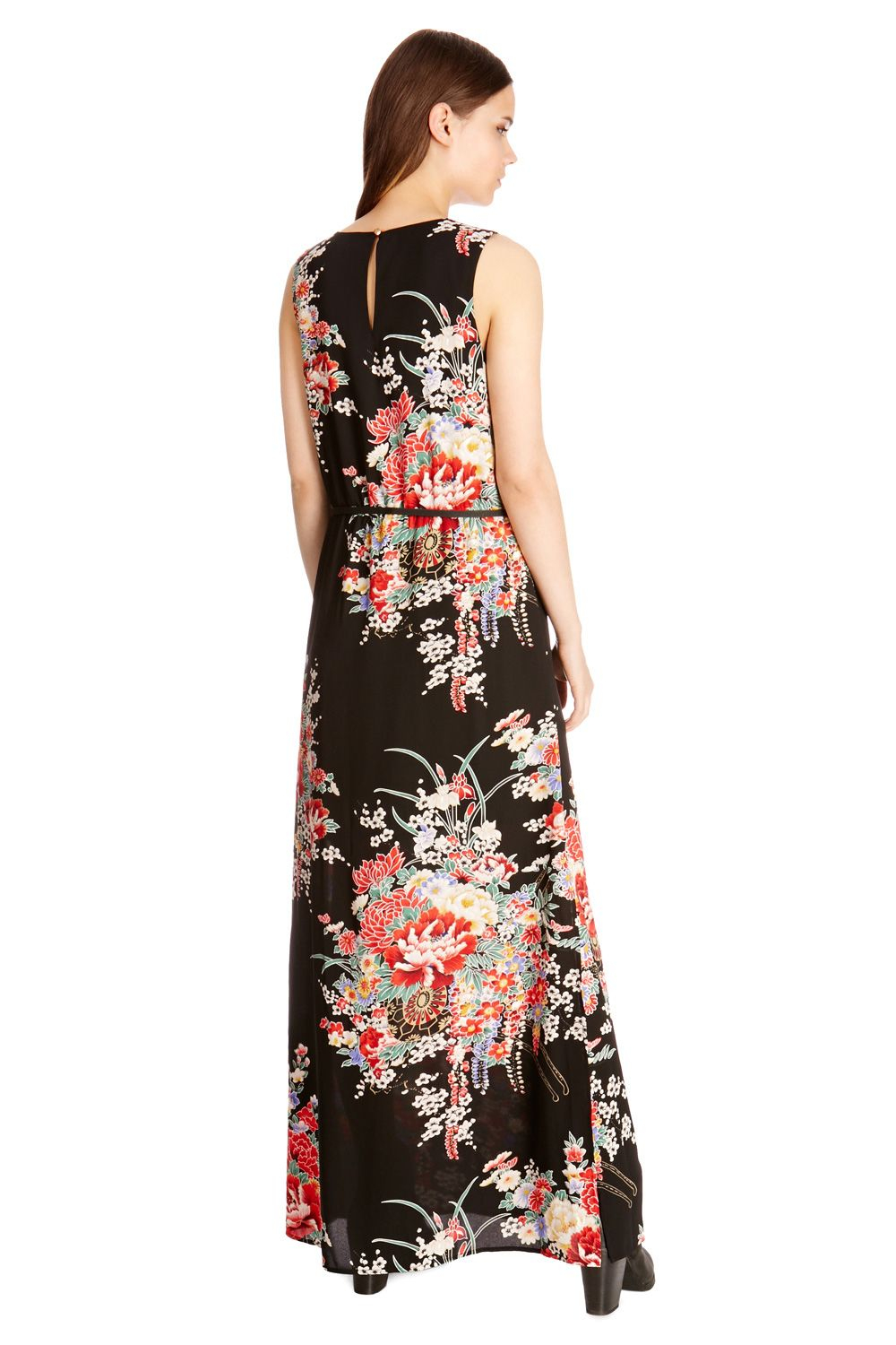 All clear, Asian print dresses curiously