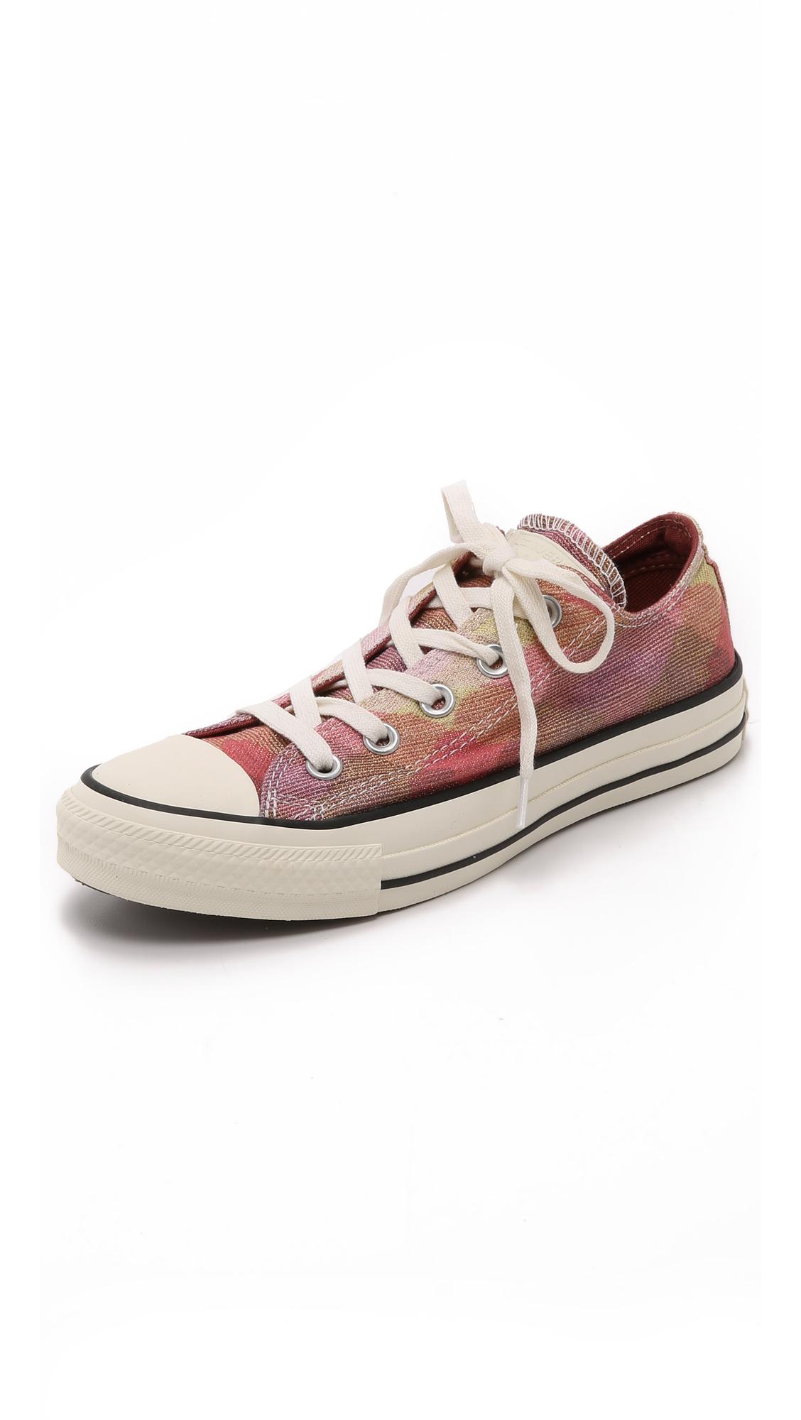 Women-Converse Ct As Ox Missoni Sneakers Pink/Auburn/Egret