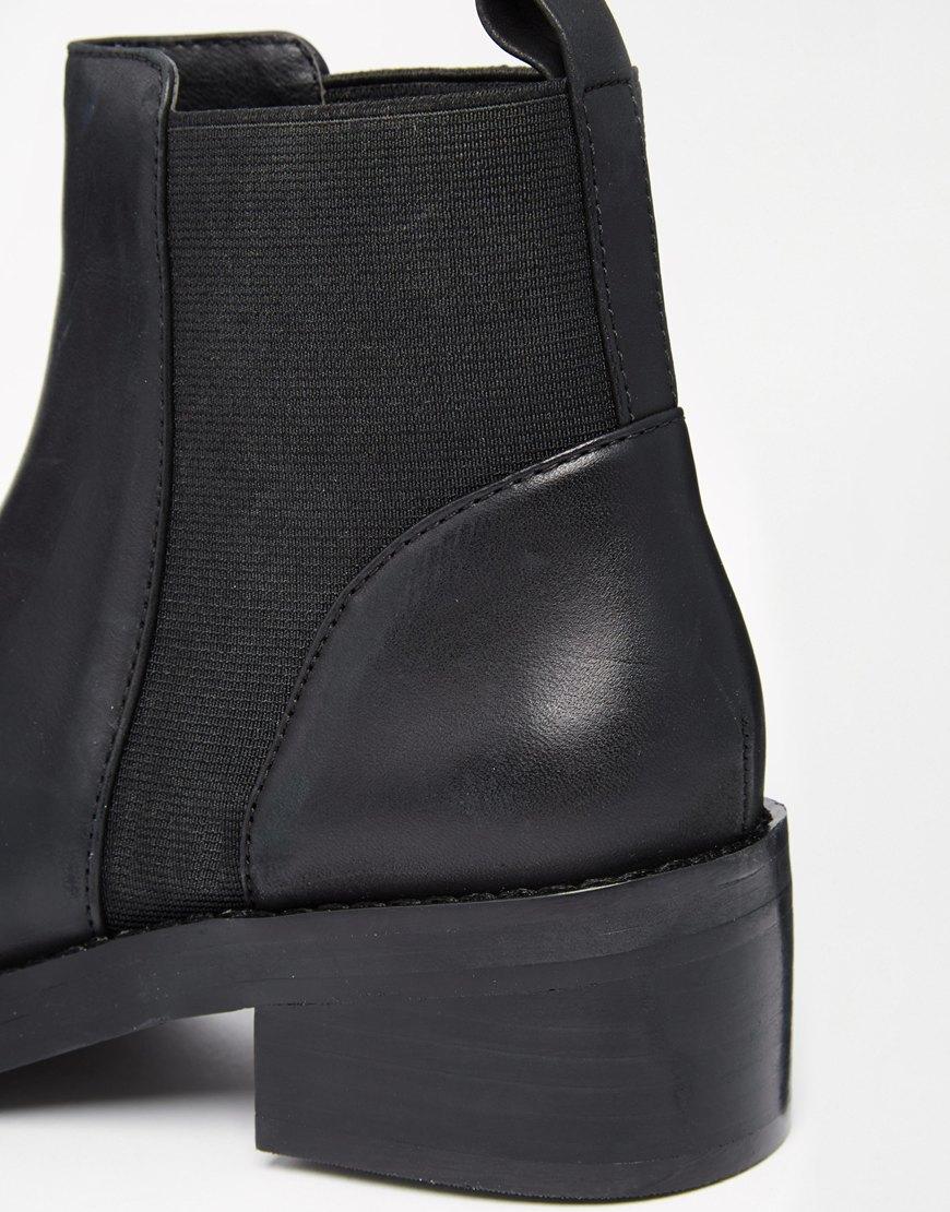 Steve madden Shrill Black Chelsea Boots in Black | Lyst