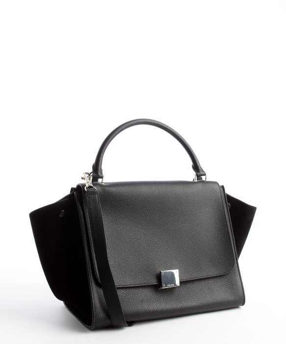 f1c3551c27 celine trapeze bag with python leather