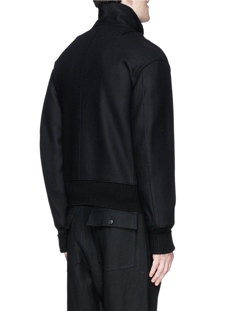Rag & Bone Beckett Wool Jacket in Black for Men