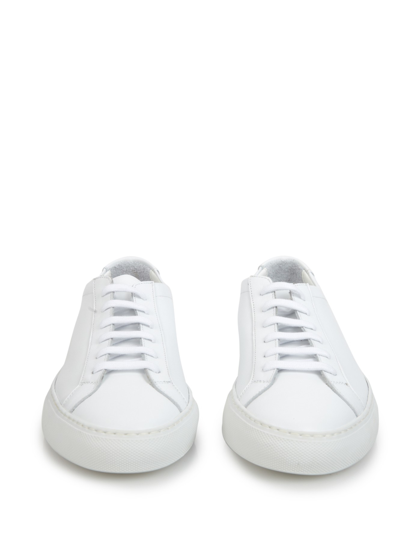 Common Projects Achilles Original Leather Low-Top Sneakers in White