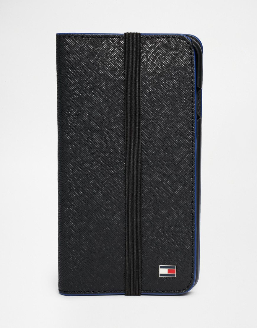 uk availability 3e117 f05d1 Tommy Hilfiger Black Geoff Iphone 6 Case for men