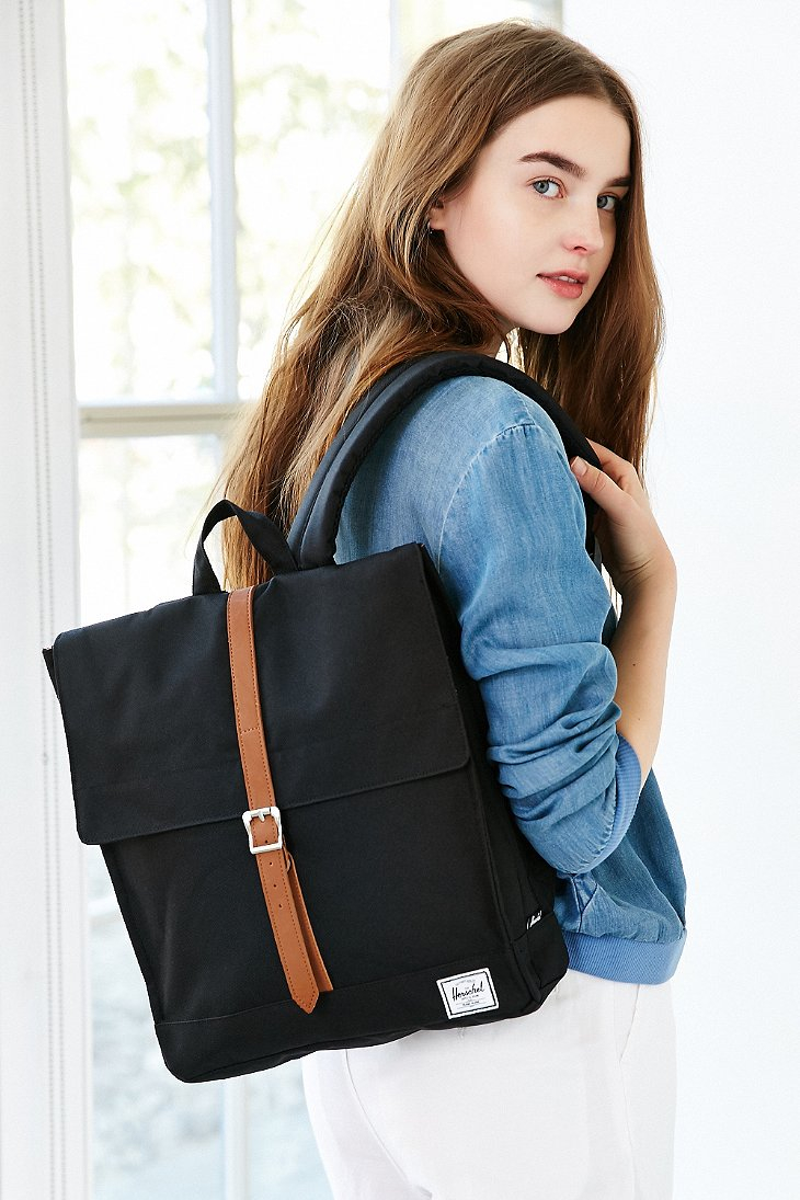 Herschel Supply Co City Backpack In Black Lyst
