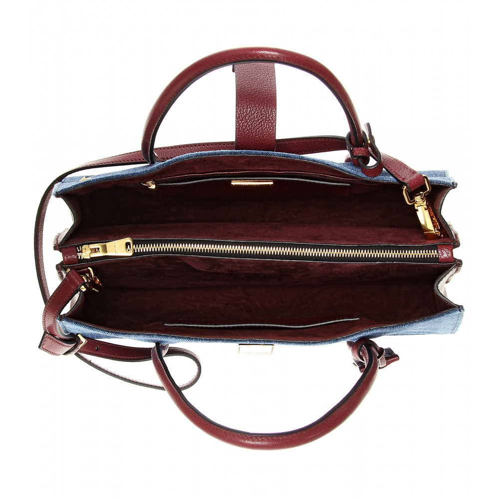 Miu Miu Denim Hobo Bag