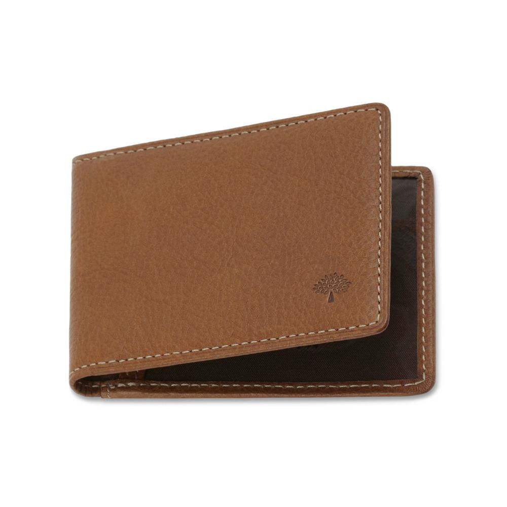on sale 89368 6eabf Mulberry Brown Travel Card Holder for men