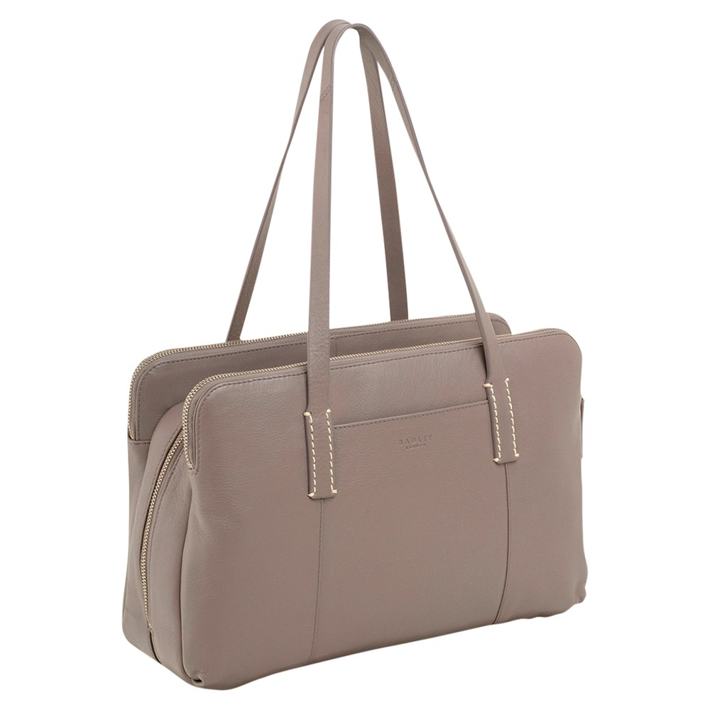 Radley Bayer Large Bowler Tote Bag in Slate (Grey)