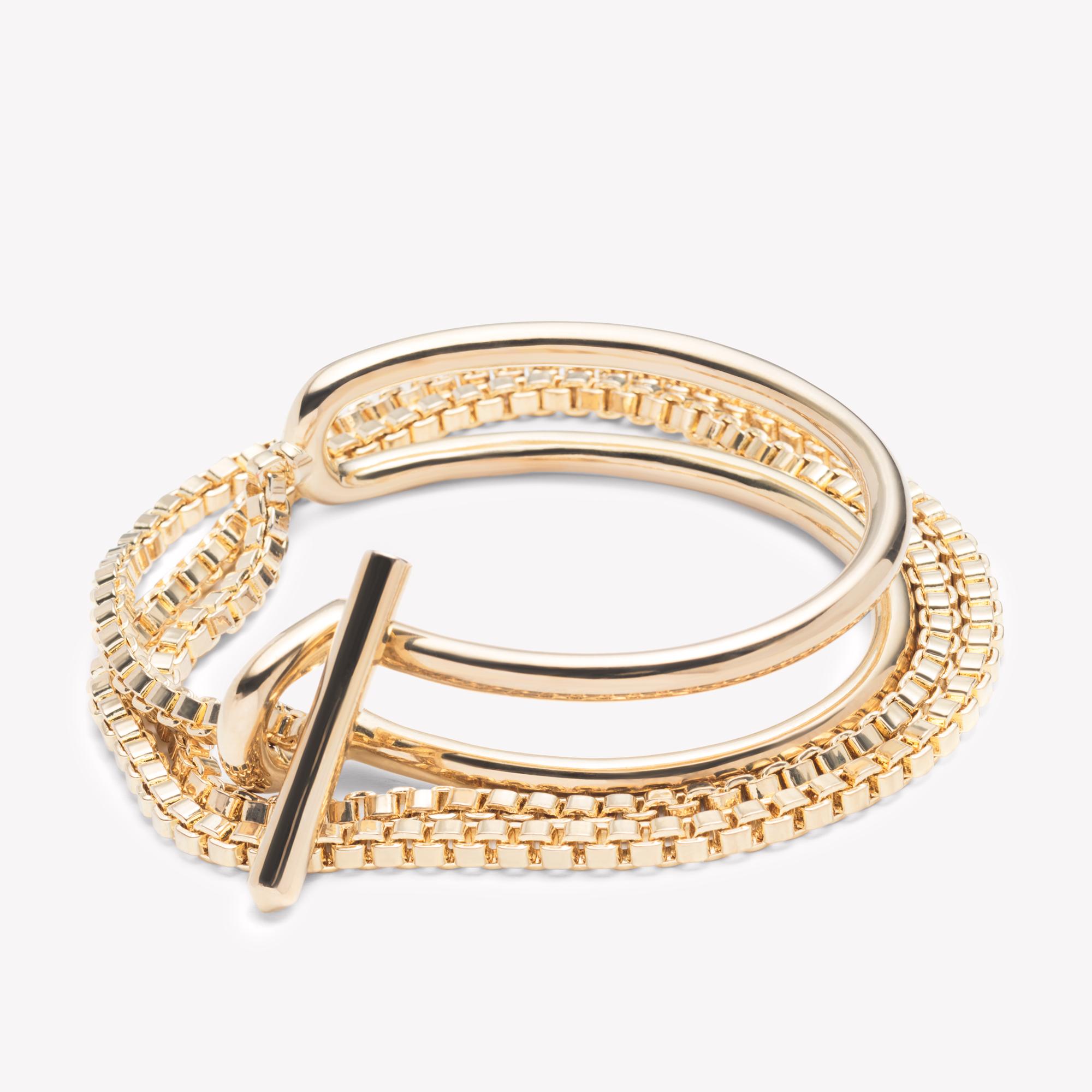 Eddie Borgo Allure Wrap Gold Bracelet Lyst