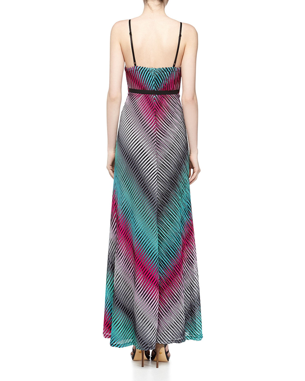 Alberto makali printed maxi dress