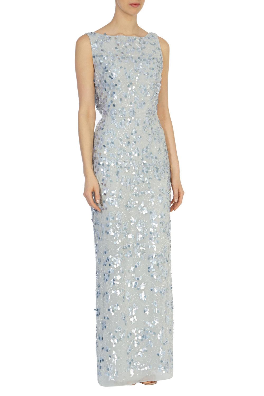 df01f56b Coast Felix Sequin Dress in Blue - Lyst