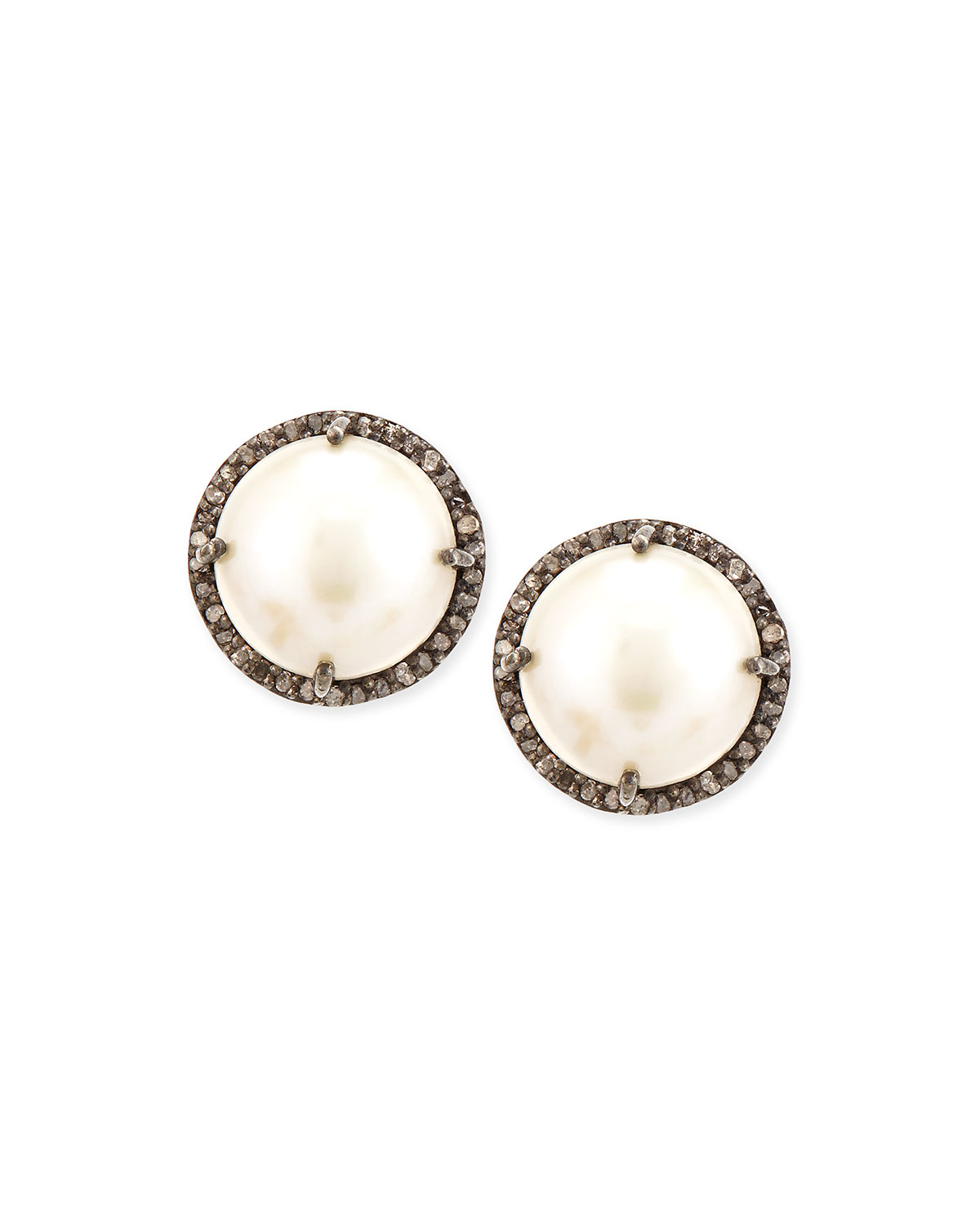 Gallery Previously Sold At: Neiman Marcus · Women's Pearl Jewelry Women's Diamond  Earrings