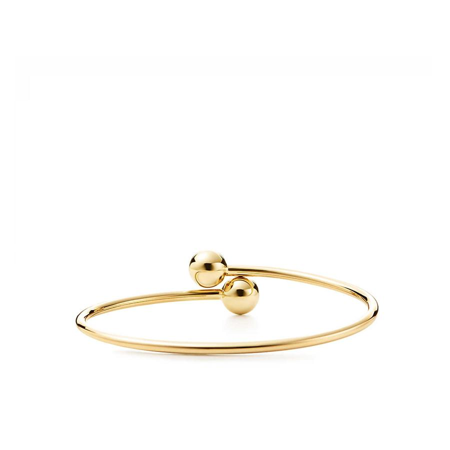 08788316f Tiffany & Co. Tiffany Hardwear - Ball Bypass Bracelet in Yellow - Lyst