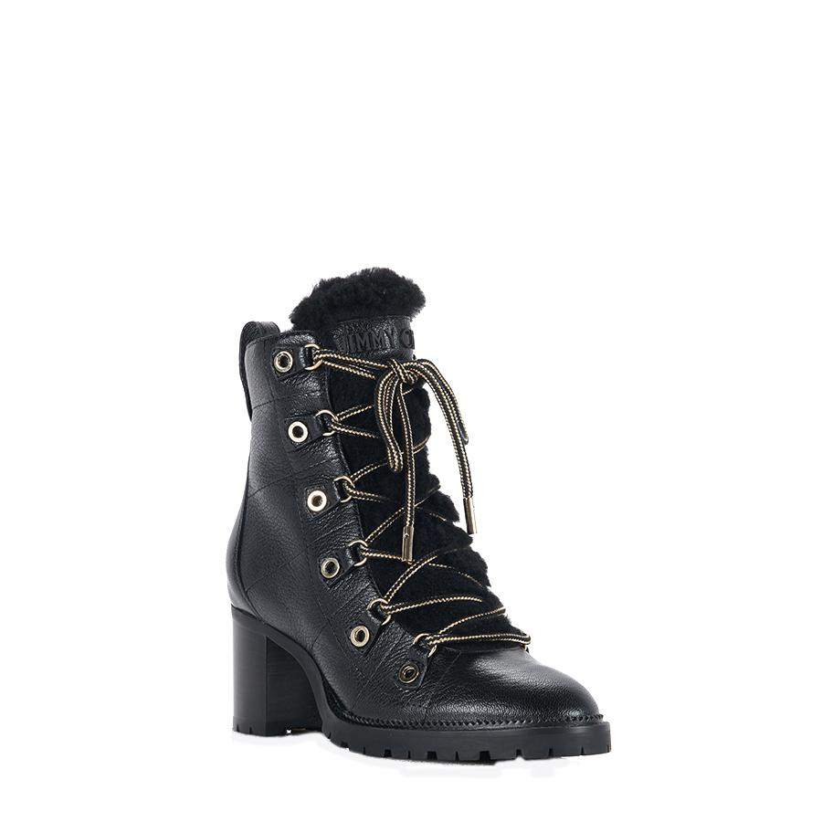 4b94076c3f1b Lyst - Jimmy Choo Hillary Boots in Black